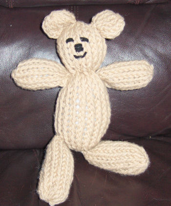 Bev S Loomed Teddy Bear